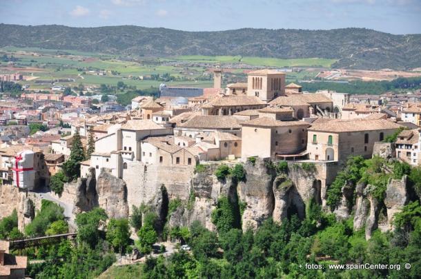 Vista del Casco Antiguo de Cuenca | Foto: SpainCenter.org