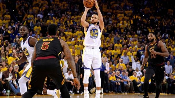 Curry led Golden State in Game 1 with 29 points/Photo: NBA.com