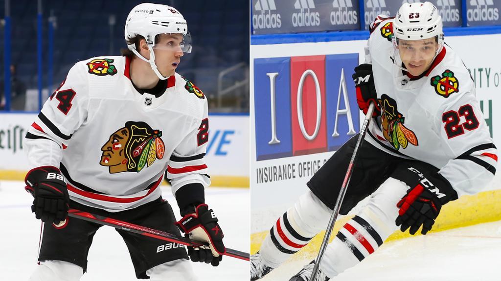 Suter y Kurashev brillan en Chicago | Foto: NHL.com