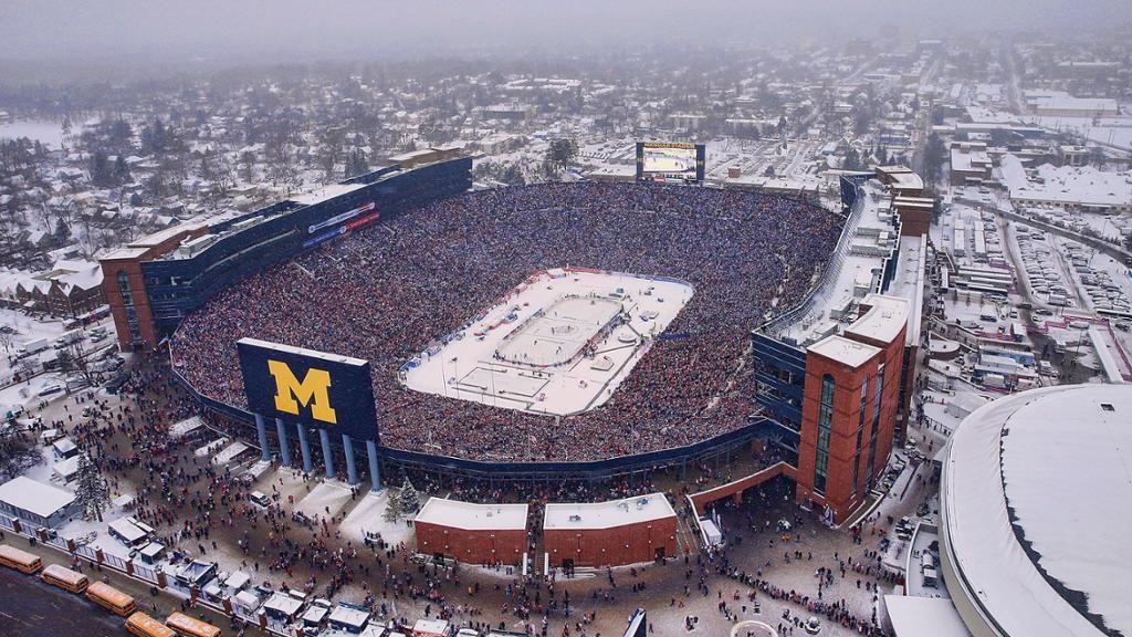 Winter Classic 2014 en el Michigan Stadium | Foto: NHL.com