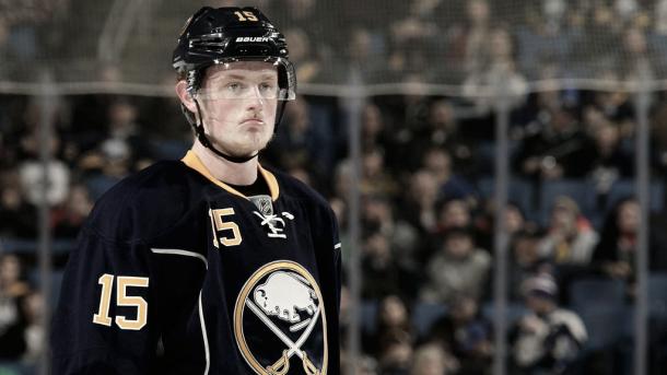 Jack Eichel, jugador clave para los Sabres, ha sufrido lesiones esta temporada | https://www.nhl.com
