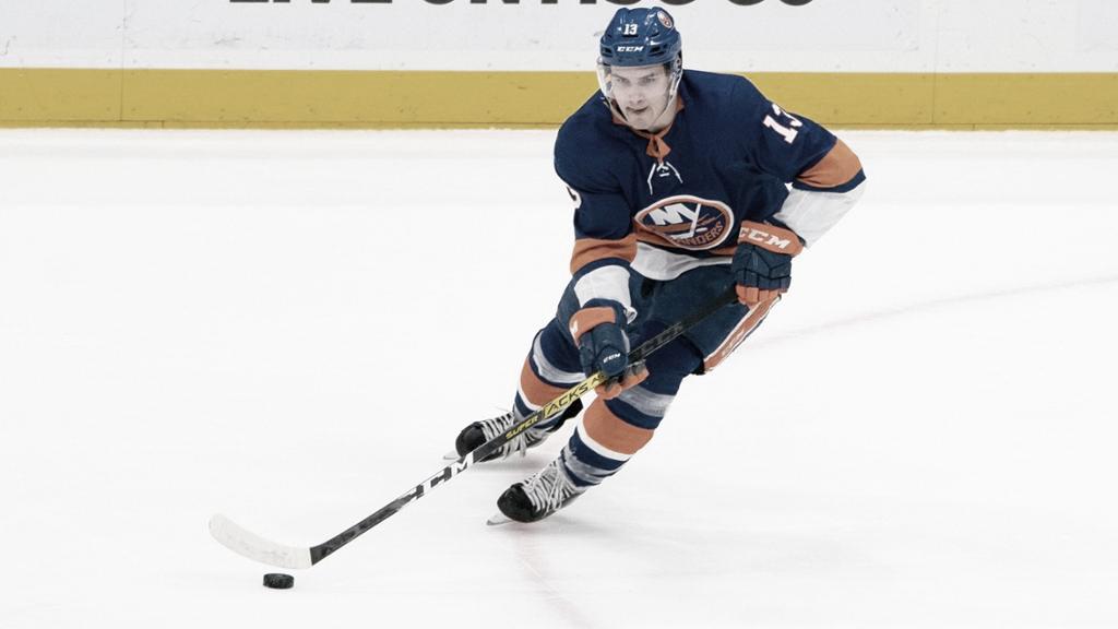 En ataque, Barzal es la guía de los Islanders   Foto: NHL.com