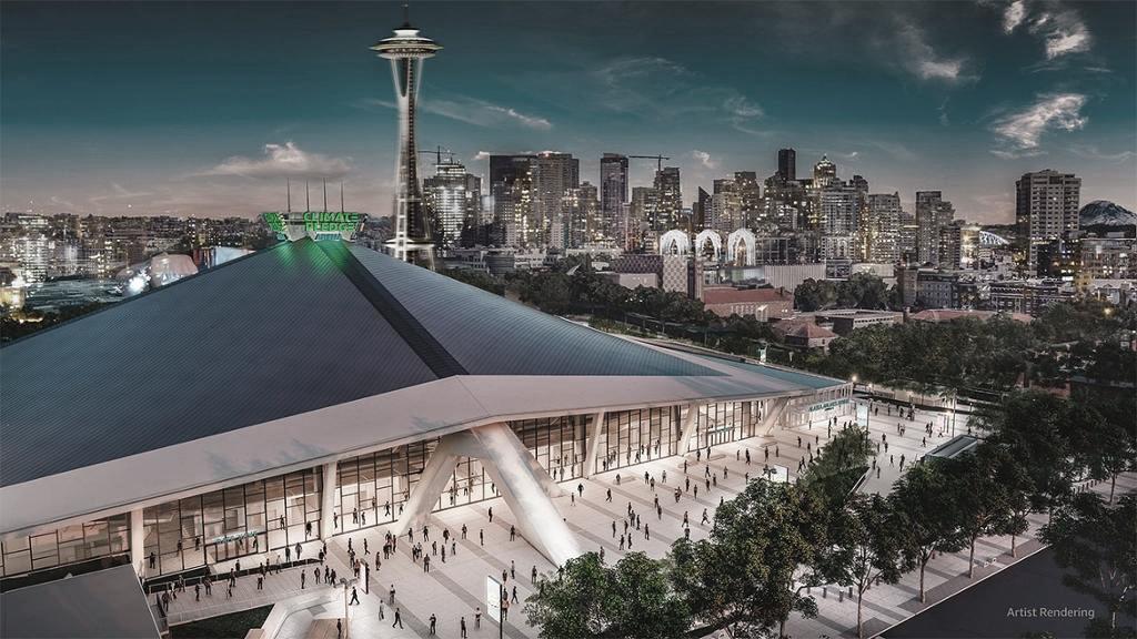 Climate Pledge Arena | Foto: NHL.com