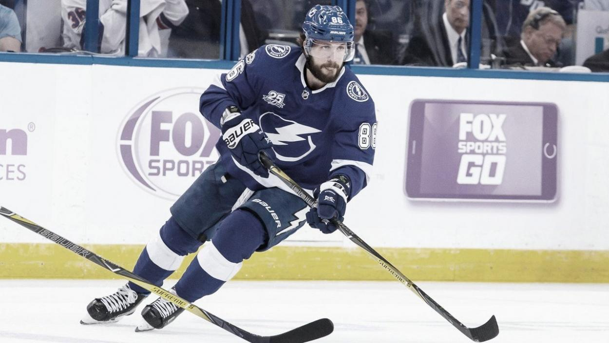 Kucherov estará listo para el momento decisivo | Foto. NHL.com