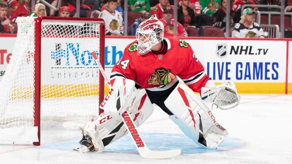 El portero finés, una de las sorpresas de Chicago | Foto: NHL.com