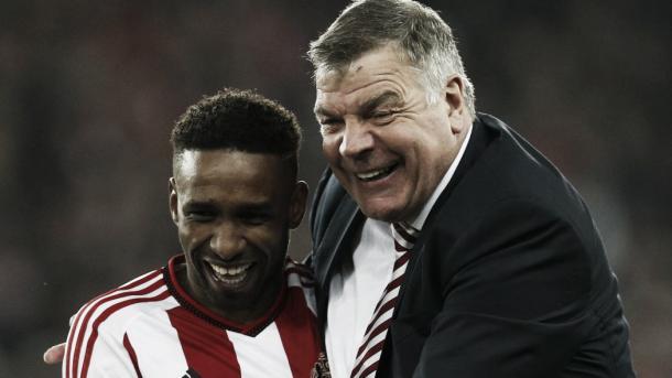 Defoe believes in Allardyce as manager. Photo- eurosport.co.uk