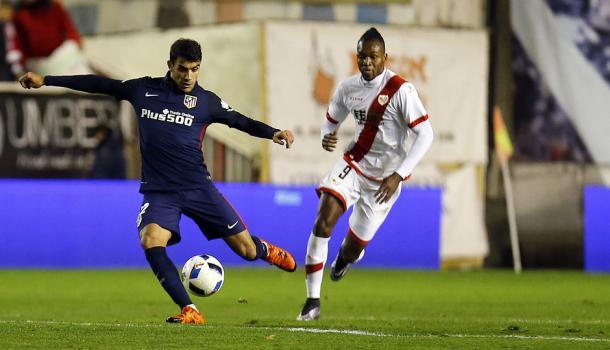 En su debut, Augusto jugó 57 minutos I Autor: Atlético de Madrid