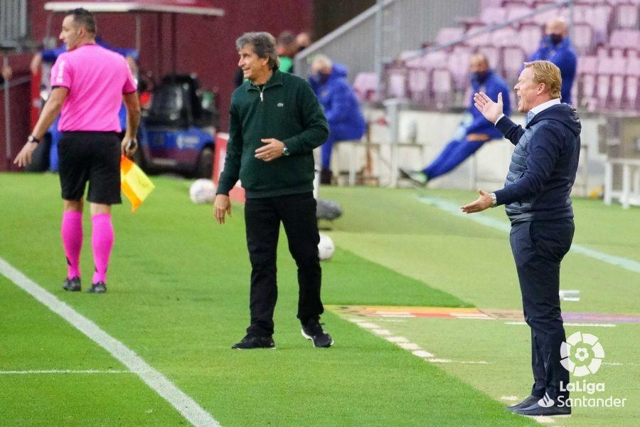 Pellegrini ante el FC Barcelona | Foto: LaLiga Santander