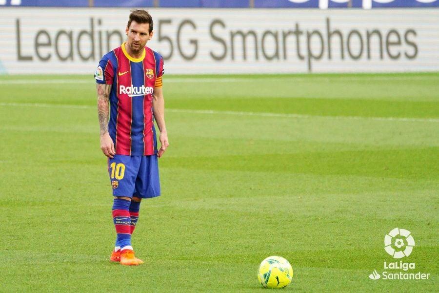 Messi esta temporada. Foto: oficial LaLiga