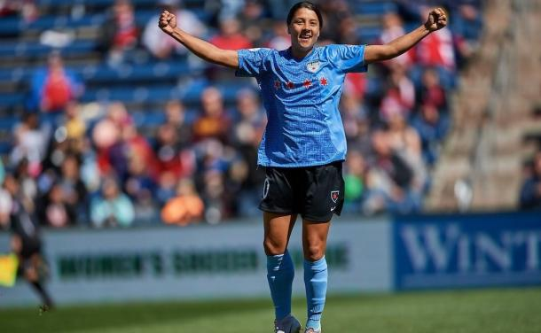 Sam Kerr will need some help against the Thorns | Source-chicagoredstars.com