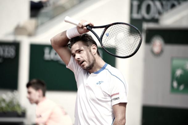 Stan se despidió rápidamente de Roland Garros.   Foto: Prensa RG.