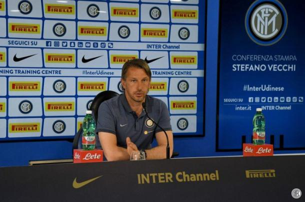 Mister Vecchi. Fonte: F.C Internazionale - Twitter