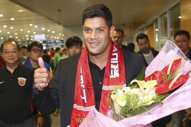 Hulk becomes the latest recruit in China. | Source: dailymail
