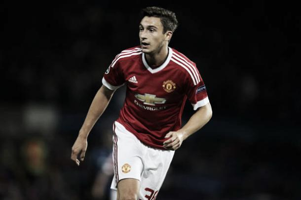 Matteo Darmian hasn't featured for United in the league this sason but is expected to replace Valencia at right-back. | Photo: Daily Star