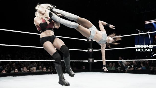Both women impressed. Photo-WWE.com