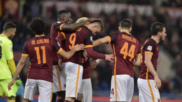 I giallorossi. Fonte foto: Getty Images.