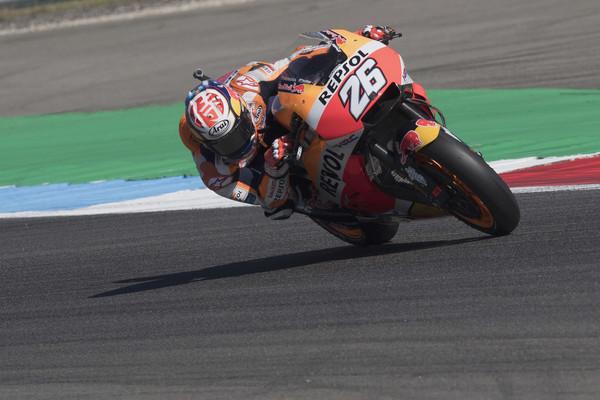 Dani Pedrosa durante el Gran Premio de los Países Bajos. | Foto: Getty Images