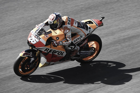 Pedrosa suffered a difficult weekend | Photo: Mirco Lazzari gp/Getty Images