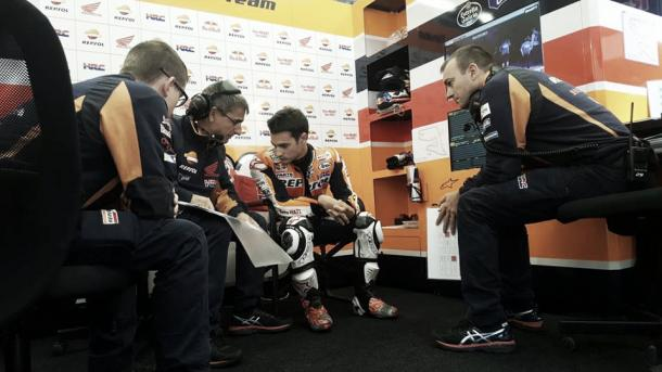 Pedrosa's difficult weekend continues qualifying in 12th | Photo: Box Repsol