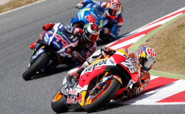 Lorenzo went backwards as Pedrosa and Vinales stole positions and points from him - www.thecheckeredflag.co.uk