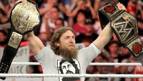 Daniel Bryan has accomplished a lot in his pro wrestling career (image: comic book)