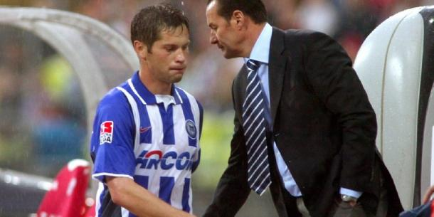 The last time Hertha defeated Gladbach away, manager Pal Dardai was still a player (Source: Berliner Kurier)