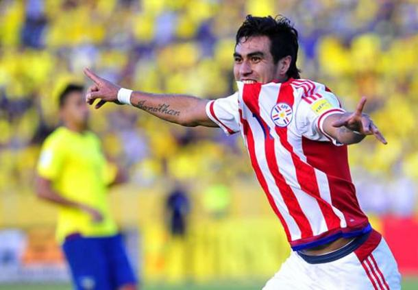 Dario Lezcano is expected to be the star for La Albirroja. Photo: AFP