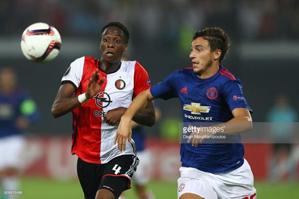Darmian has made just one appearance this season | Photo: Dean Mouhtaropolous/ Getty