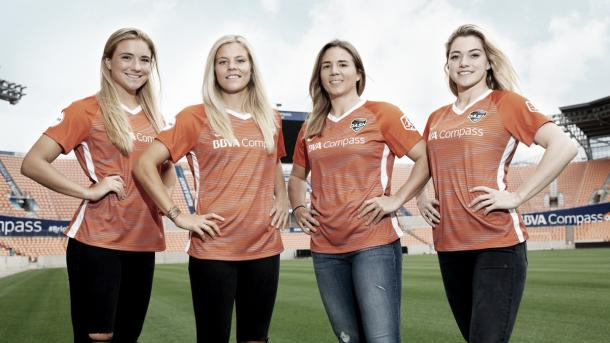 The Dash face a virtual must-win situation this Saturday against Sky Blue FC (photo via Houston Dash on twitter.)
