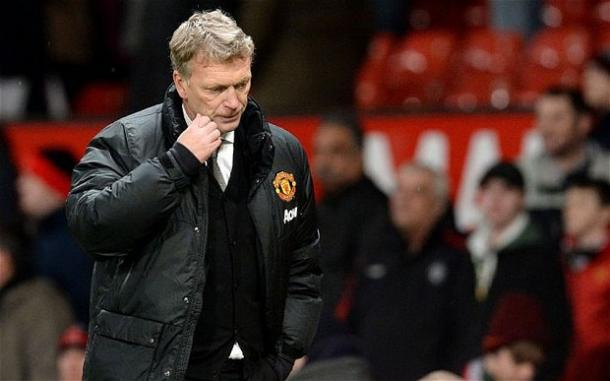 David Moyes knows all about being under pressure at Old Trafford. | Photo: Telegraph