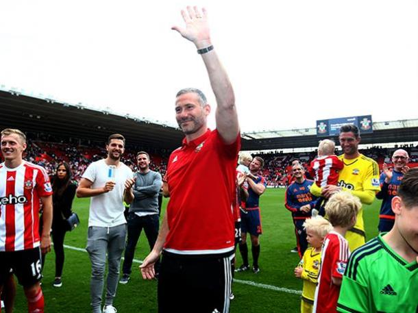 Davis at his testimonial earlier this year: Photo source: Saints FC