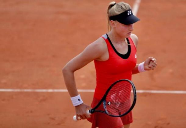 The Ukrainian proved her mental toughness by rallying from behind in both of her finals this year/Photo: DR