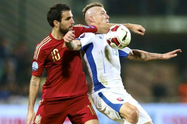 Spain almost ended perfect had it not been for blunder against Slovakia. Photo: Bleacher Report