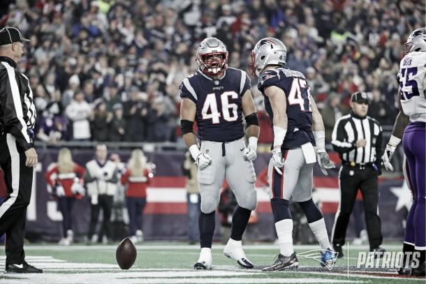 James Develin batió su récord personal con dos TDs en un mismo partido | Patriots.com