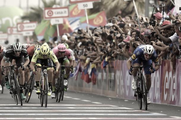 Viviani completó un gran Giro, prueba en la que ganó tres etapas | Foto: Ciclismo vavel