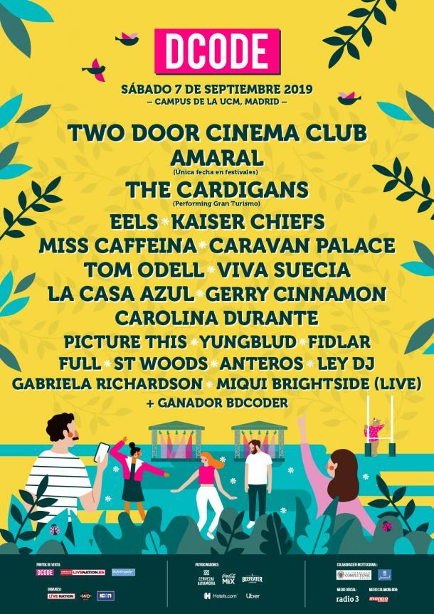Cartel oficial DCODE Festival   Página web oficial DCODE