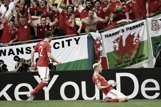 Dreamland for Wales! l Photo: uefa.com