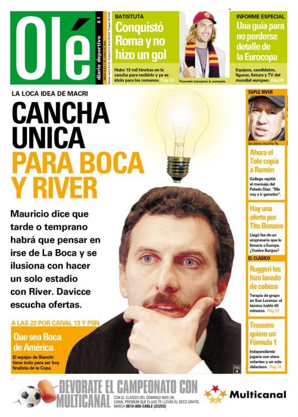 Foto: Diario Olé