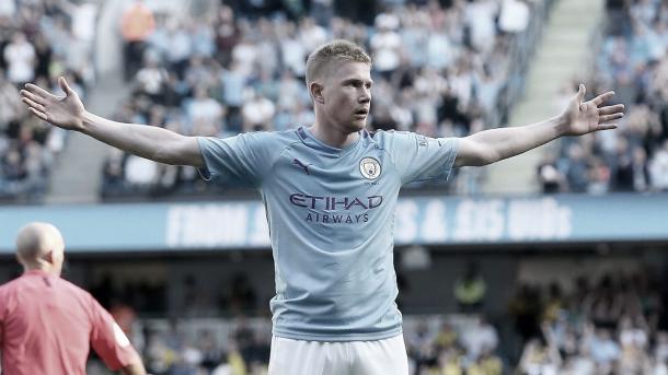 Kevin de Bruyne completa la goleada./ Foto: Premier League