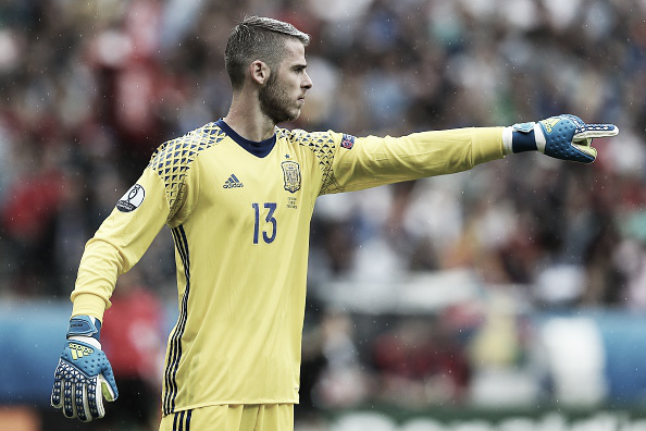 De Gea's performance against Italy ultimately went unrewarded | Photo: Chris Brunskill/ Getty Images Sport