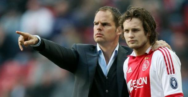 De Boer and Blind during their Ajax days (SpazioInter)