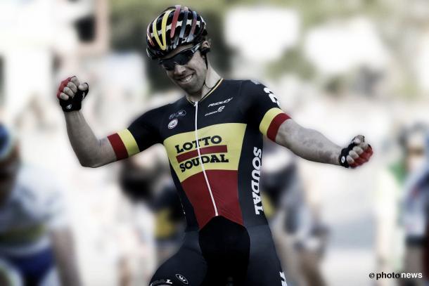 Jens Debusschere gana la segunda etapa de etapa de la Tirreno-Adriatico 2015  Fuente_ Lotto-Soudal