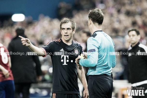 Philipp Lahm con el Bayern de Múnich. | Foto: Rodrigo Torrellas, VAVEL