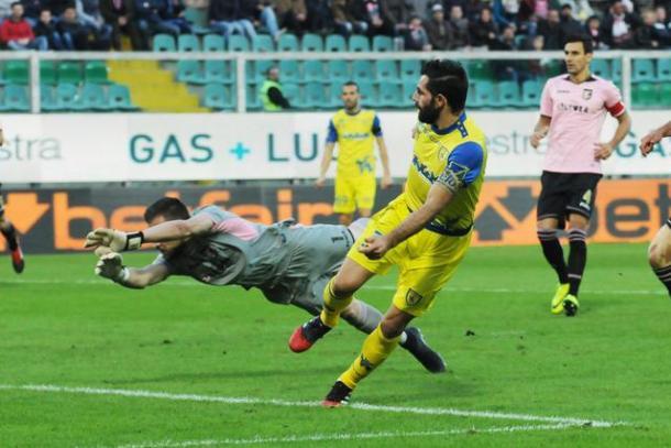 Pellissier punisce il Palermo, 100° goal in A per lui | Foto: ANSA.it
