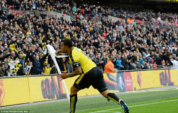 Deeney gave Watford hope (photo: Andy Hooper)