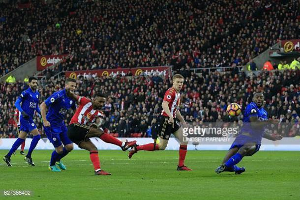 Jermain Defoe doubles the lead for Sunderland | Photo: Getty/ Lindsey Paranby