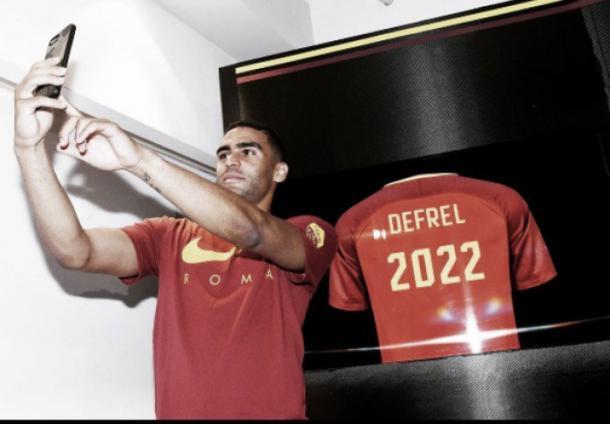 Defrel é o primeiro reforço da Roma para o ataque nesta janela de transferências (Foto: Divulgação/AS Roma)