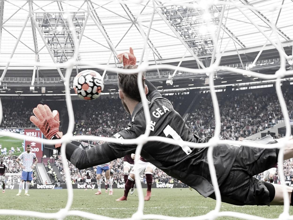 De Gea fue salvador para el United   Foto: Manchester United