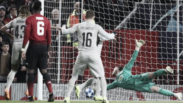 De Gea volvió a ser fundamental para el United | Foto: ManUtd