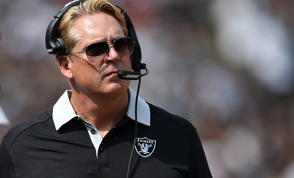 Jack Del Rio and Ken Norton Jr. (not pictured) will have more to work with on defense in 2015 | Thearon W. Henderson/Getty Images
